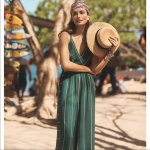 Anthropologie Ett:twa Portsmouth Jumpsuit XSP